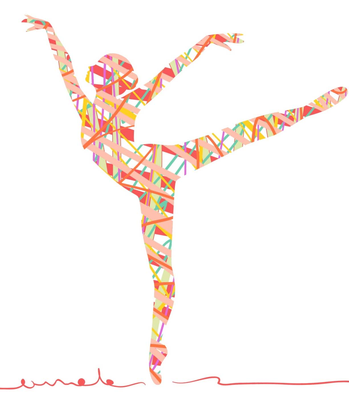 バレエができるスタジオ