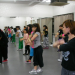 練習風景 中目黒 ダンススタジオ