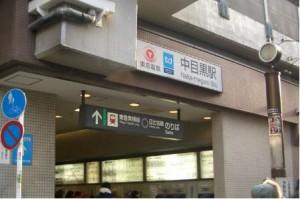 中目黒レンタルスタジオは中目黒駅から徒歩2分