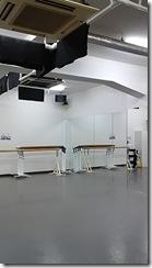 中目黒 日比谷線 スタジオ内の様子